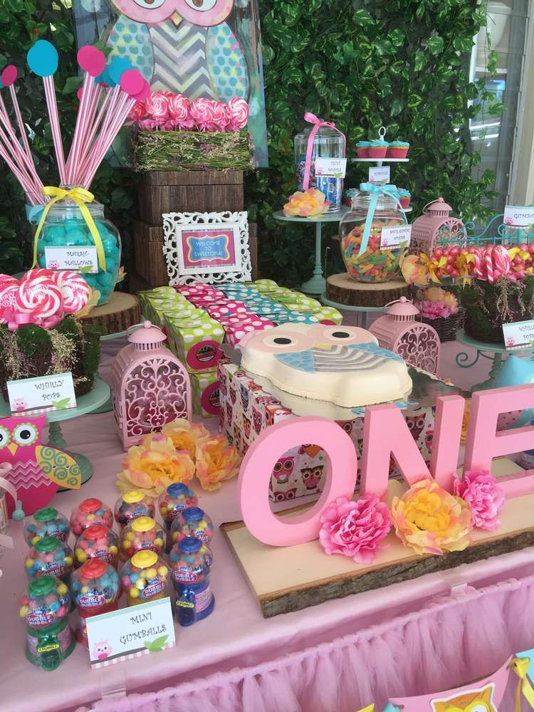 Owls Birthday Party Ideas Photo 1 of 15 Catch My Party