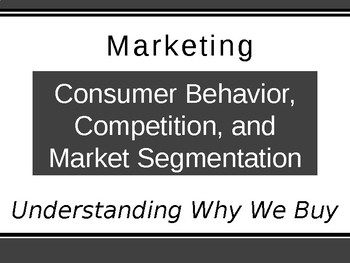 Consumer Behavior Competition And Market Segmentation Consumer Behaviour Market Segmentation Business Psychology