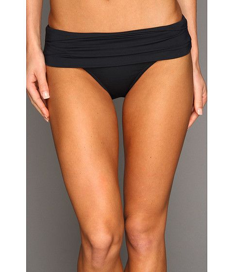 c940f54a54 Calvin Klein Pleated Foldover Full Coverage Bikini Bottom   Fashion ...