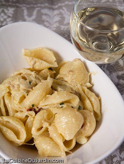 Pasta with tuna (french recipe) - Pâtes au thon