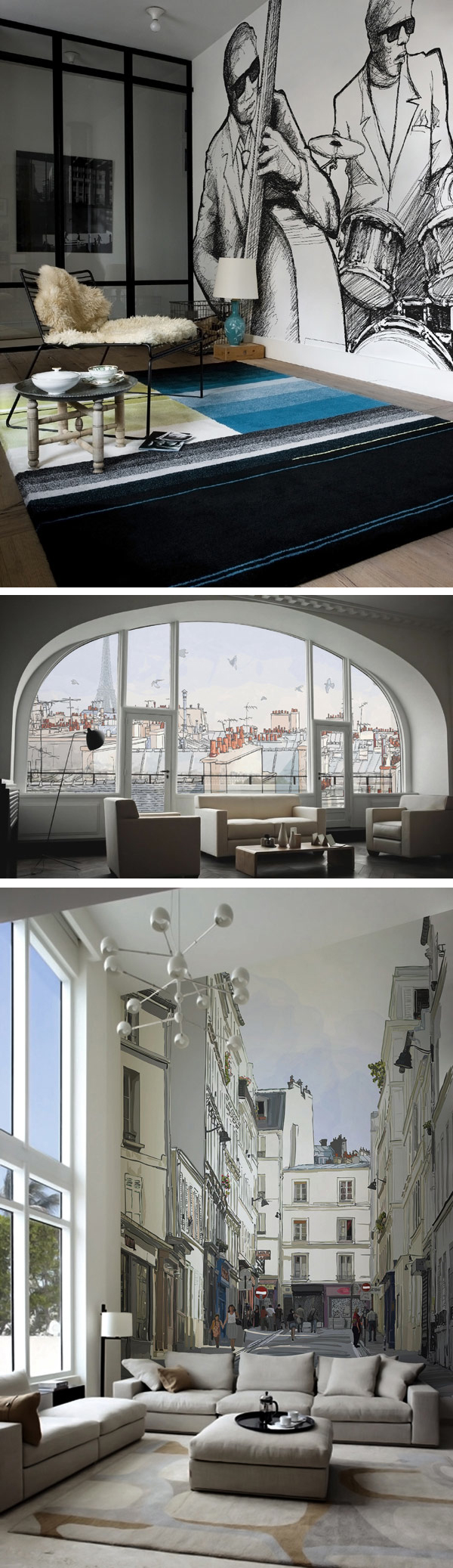 Adding Personality To Modern Interiors City Never Sleeps Wall Murals By Pixers