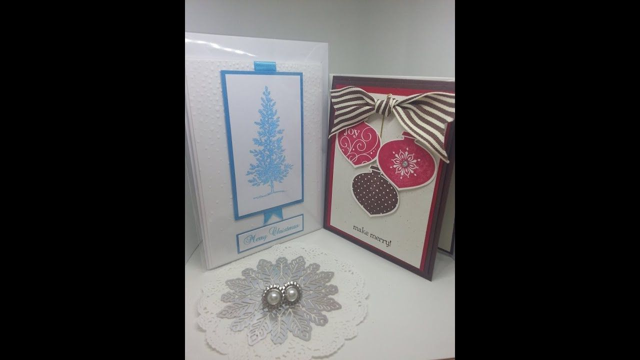 Pin By Stamp With Joy Stampin Up On Christmas Card Challenge For