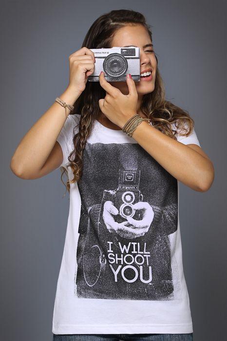 Camiseta I Will Shoot You
