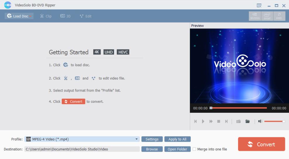 VideoSolo BD-DVD Ripper 1 0 10 + Crack [ Multilingual