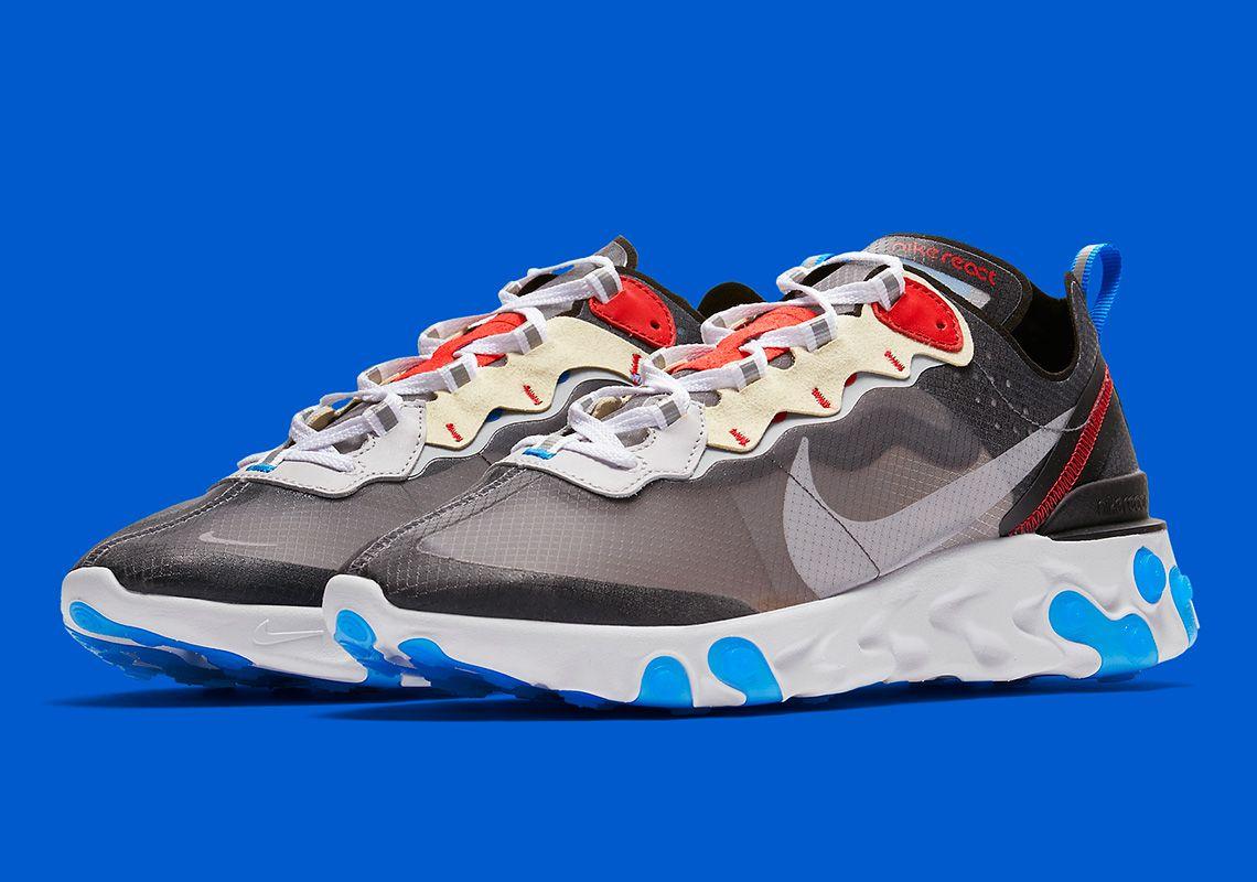 5447b6db4de8 Nike React Element 87 AQ1090-003  thatdope  sneakers  luxury  dope  fashion   trending