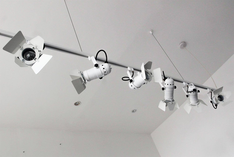 Par20 Theatre Track 240v 50w White Lighting Fixtures