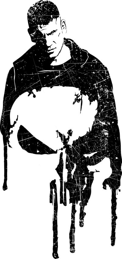 The Punisher Fan art (as a tshirt pic as always