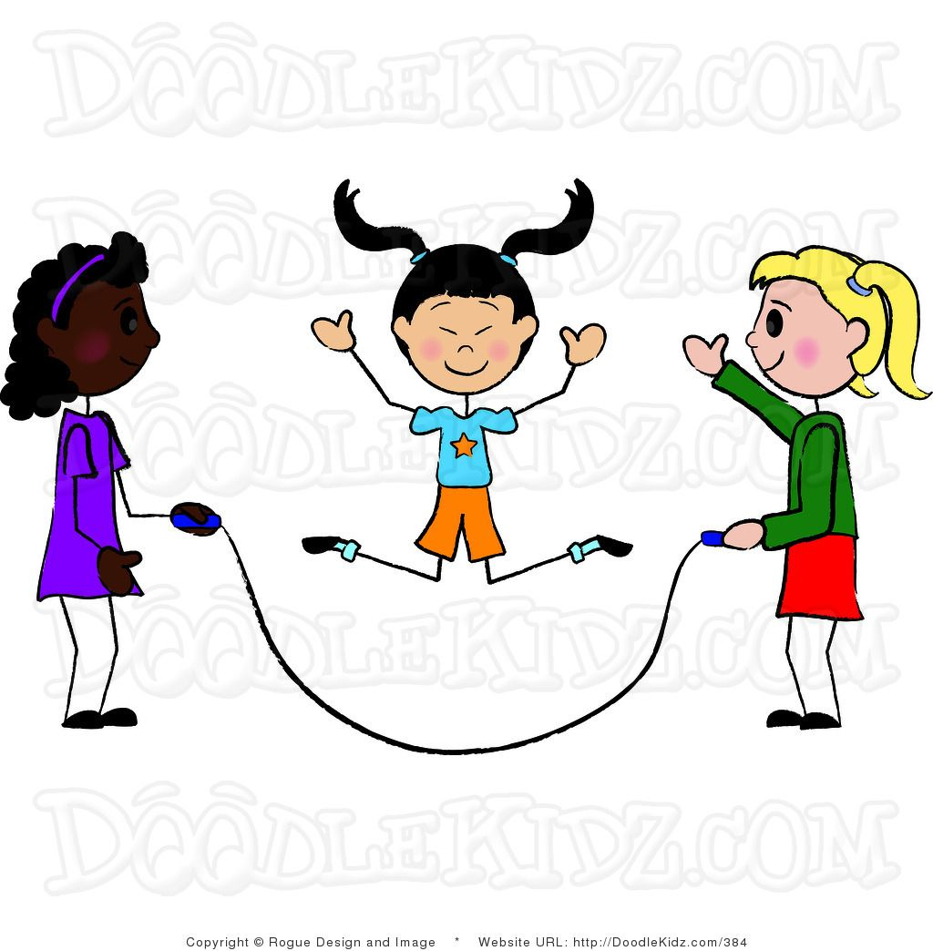 Jump Rope Double Dutch Is Even Better Jump Rope Clip Art