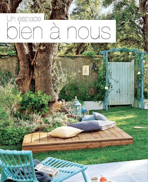 Petit Coin Detente Catalogue Leroy Merlin Jardins Champetres Idee Amenagement Jardin