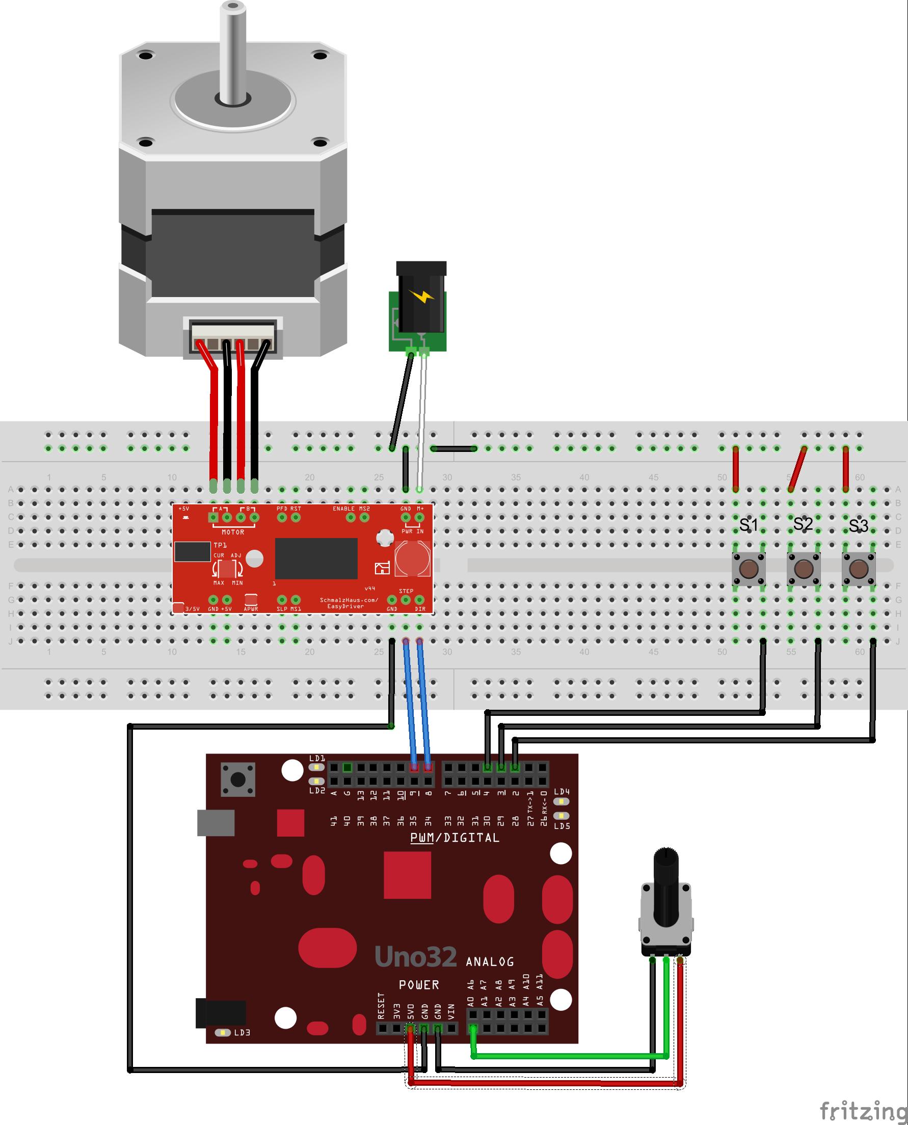 Arduino stepper motor library impremedia