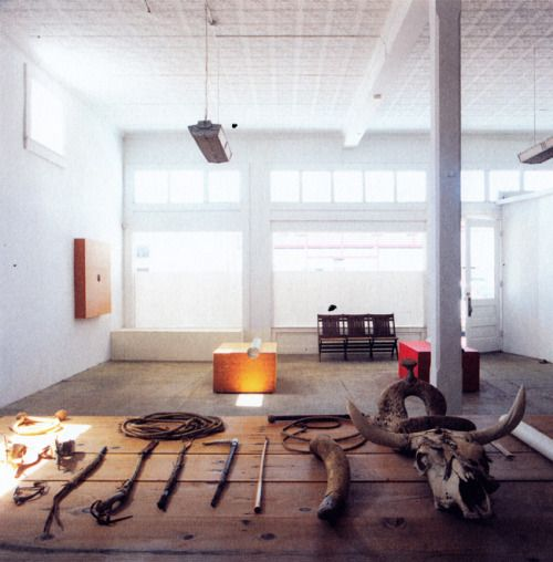 Donald Judd, Ranch Office, Marfa | I (heart) Marfa | Home ... | 500 x 508 jpeg 37kB
