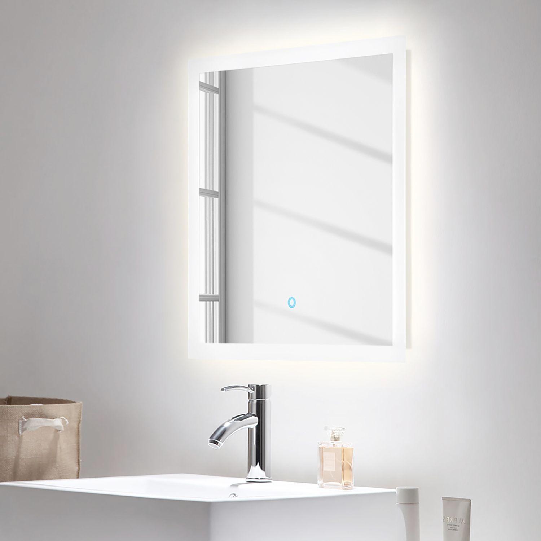 Badezimmerset Carpo 2 Teilig Led Spiegel Badezimmerspiegel Badspiegel Led