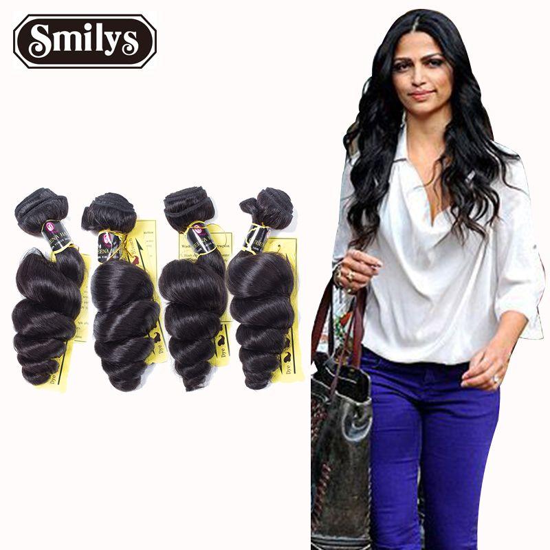 Peruvian Virgin Hair Loose Wave 4Bundles Peruvian Hair Weave Bundles Human Hair Peruvian Loose Wave hair extension