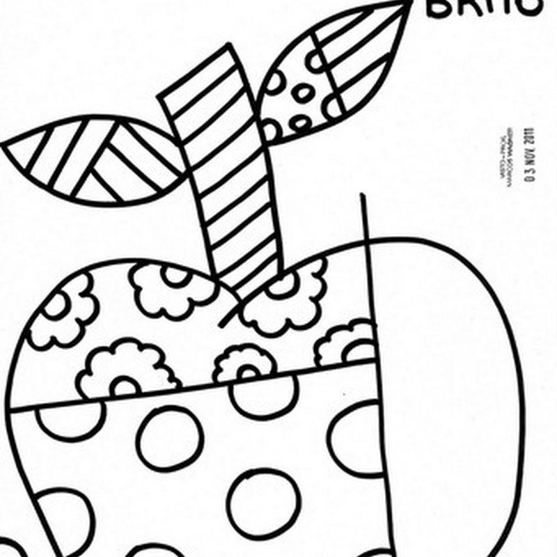 Desenhos Do Romero Britto Obras De Romero Britto Desenhos Do