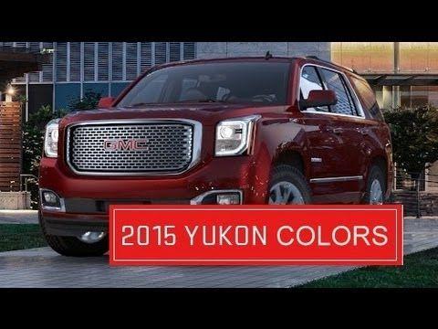 2015 Yukon Denali Colors Exterior Interior Yukon Denali Gmc