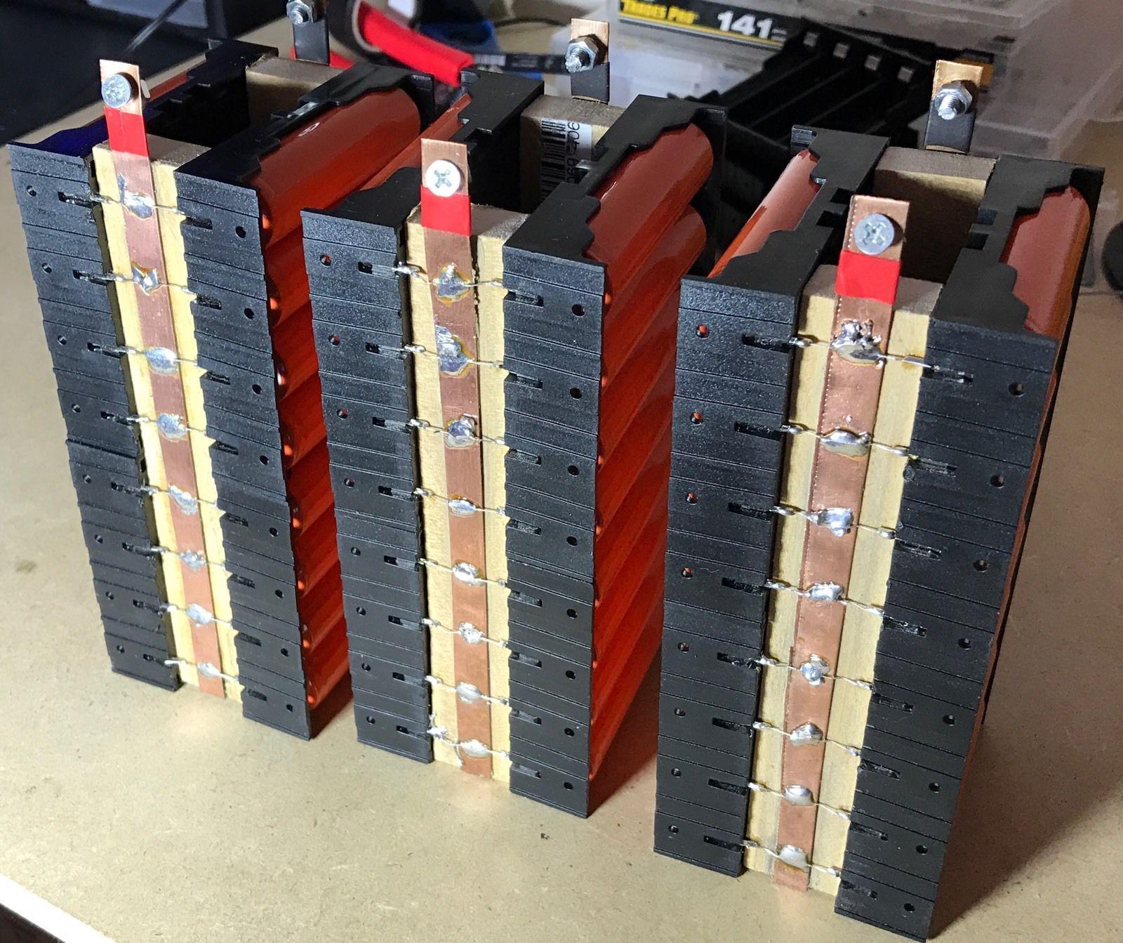 Lot of 18650 batteriesdiy powerwalllipolithium ion48 cells 42 lot of 18650 batteriesdiy powerwalllipolithium ion48 cells 42v 1800mah solutioingenieria Images