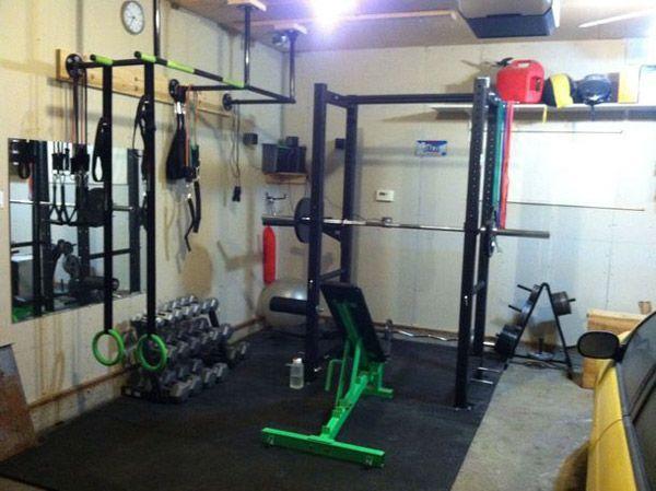 Garage gym photo the green machine