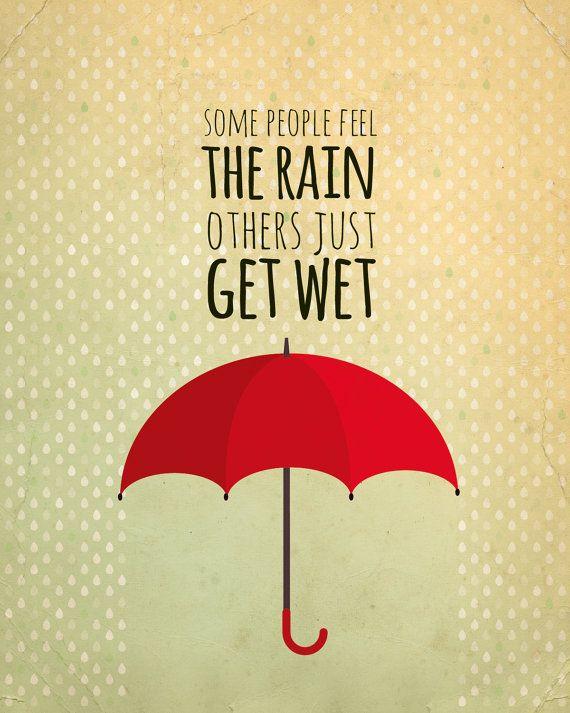 Teen art print - inspirational quote wall art | Umbrella art, Truths ...