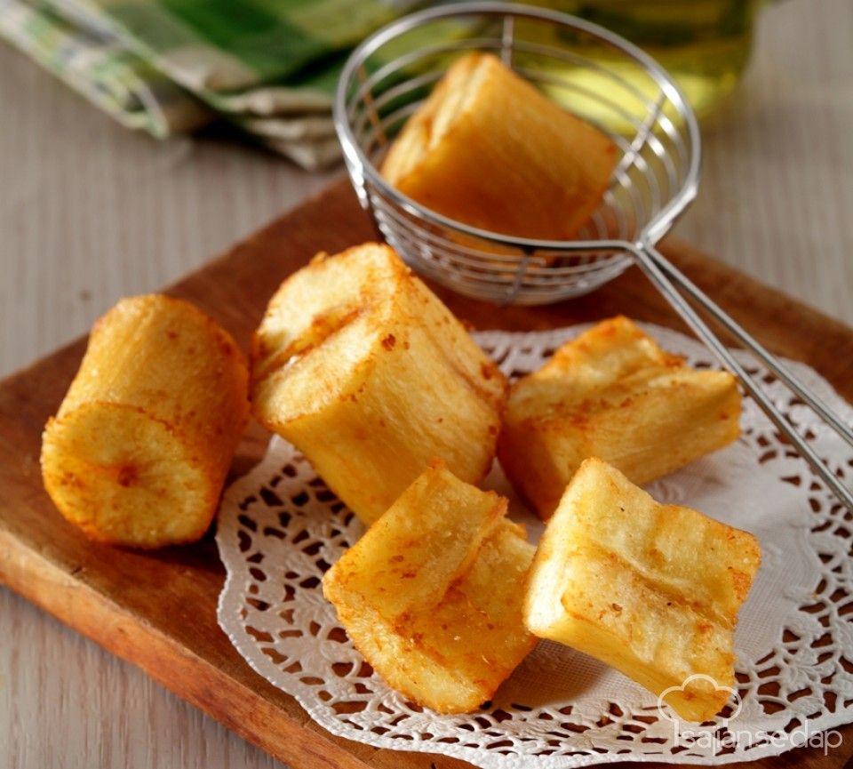 Resep Singkong Thailand Keju Dessert Rumahan Ala Resto Ide Makanan Hidangan Penutup Keju