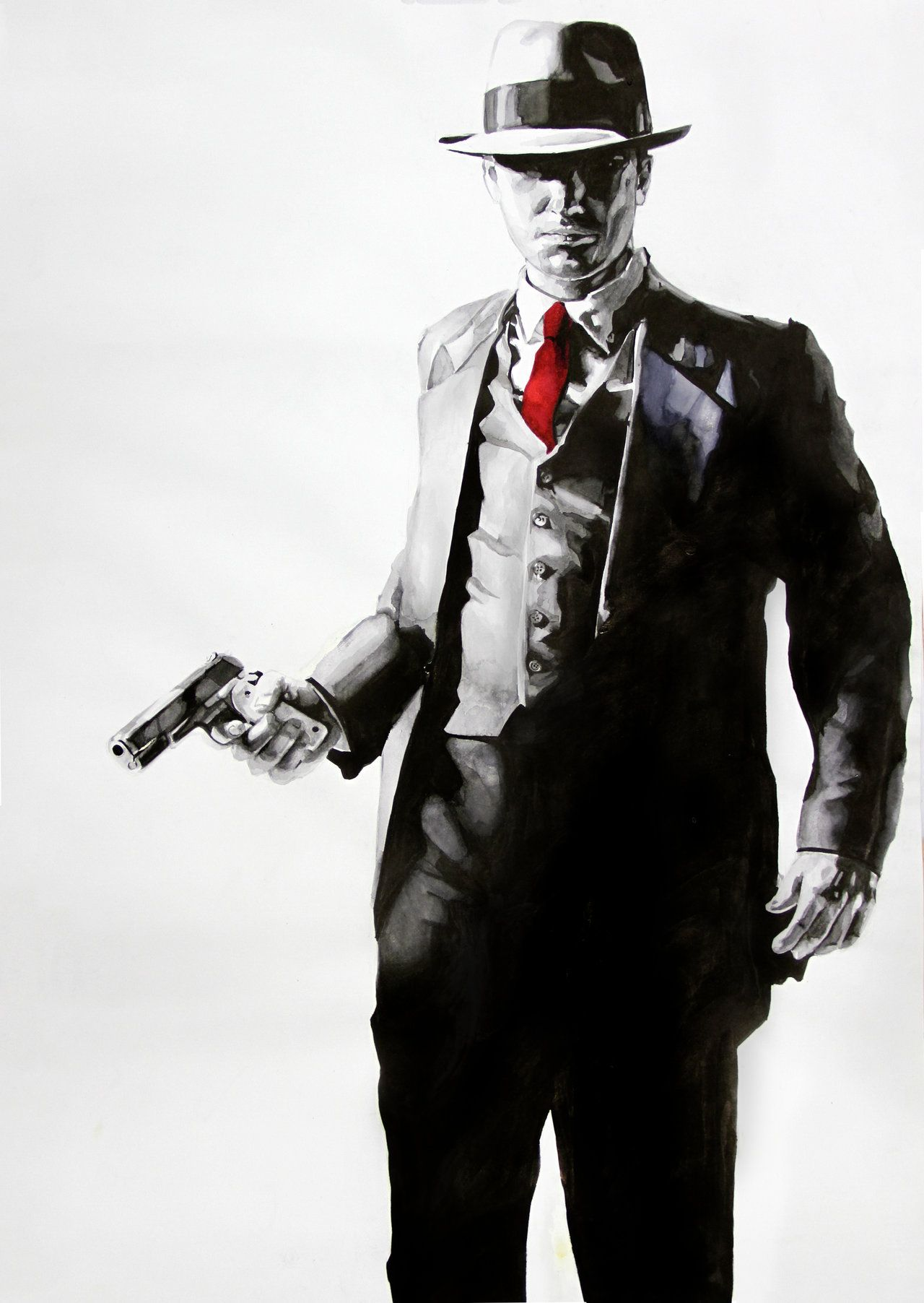 Video Game Artwork X Post R Imaginarygaming Mafia Gangster