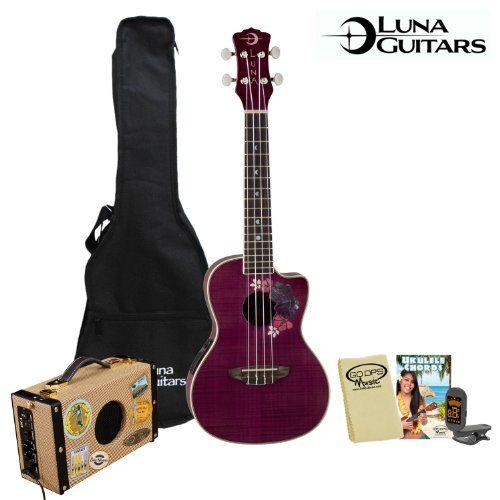 suitcase guitar Luna amp
