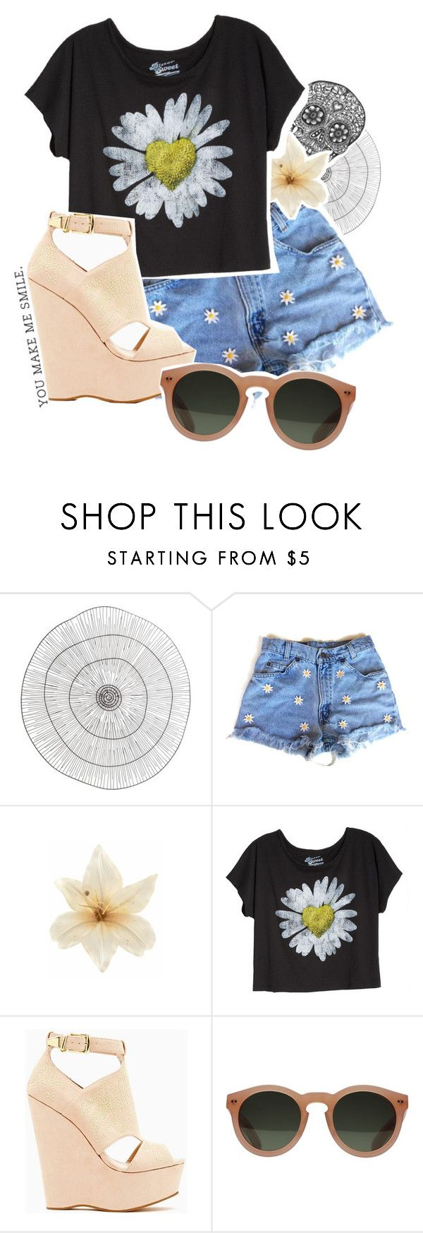 """""""/ / when i met you in the summer"""" by marsh-mallow ❤ liked on Polyvore featuring Cyan Design, Clips, Betsey Johnson and GANT"""