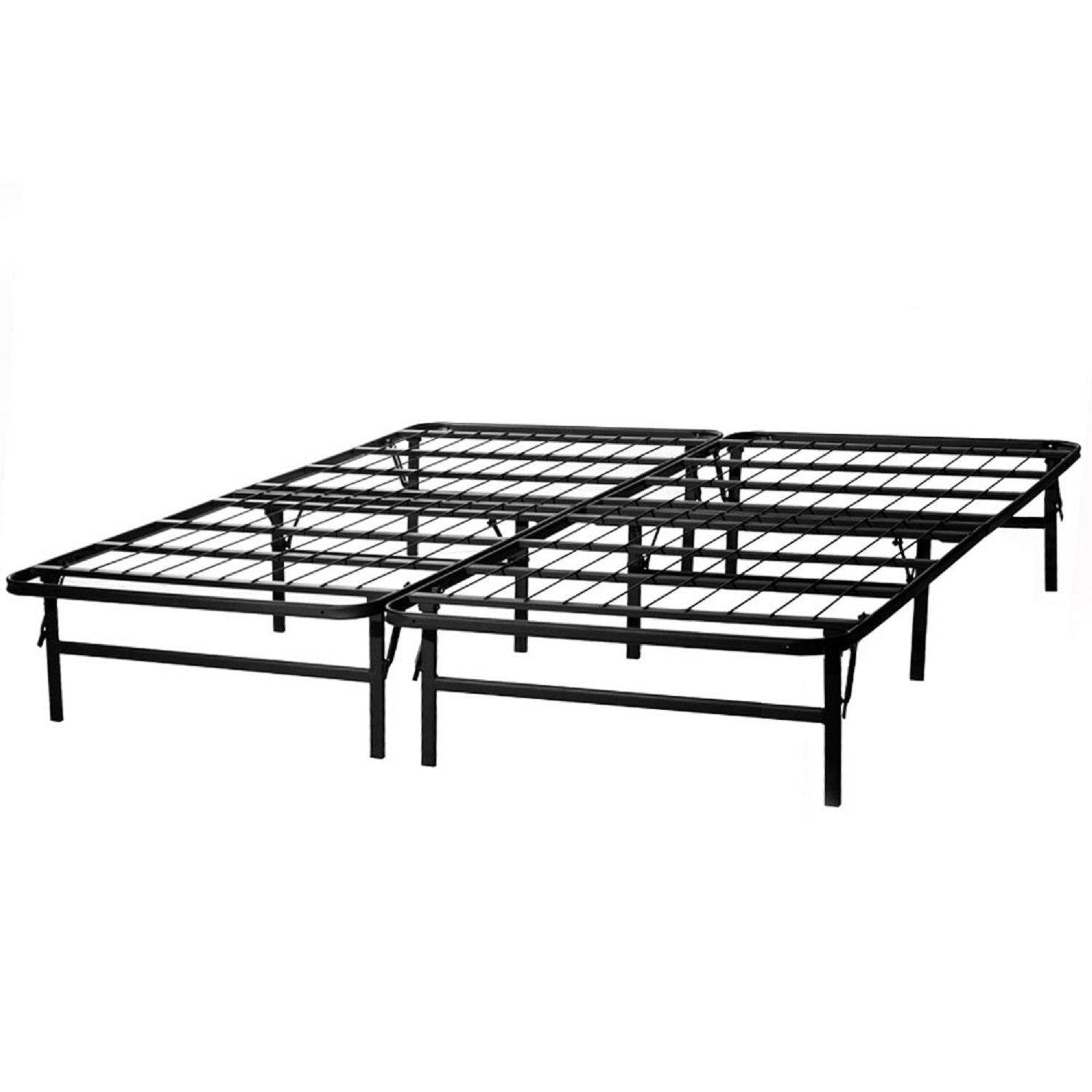 structures by malouf highrise folding bed frame 14 inch high bi fold platform bed base