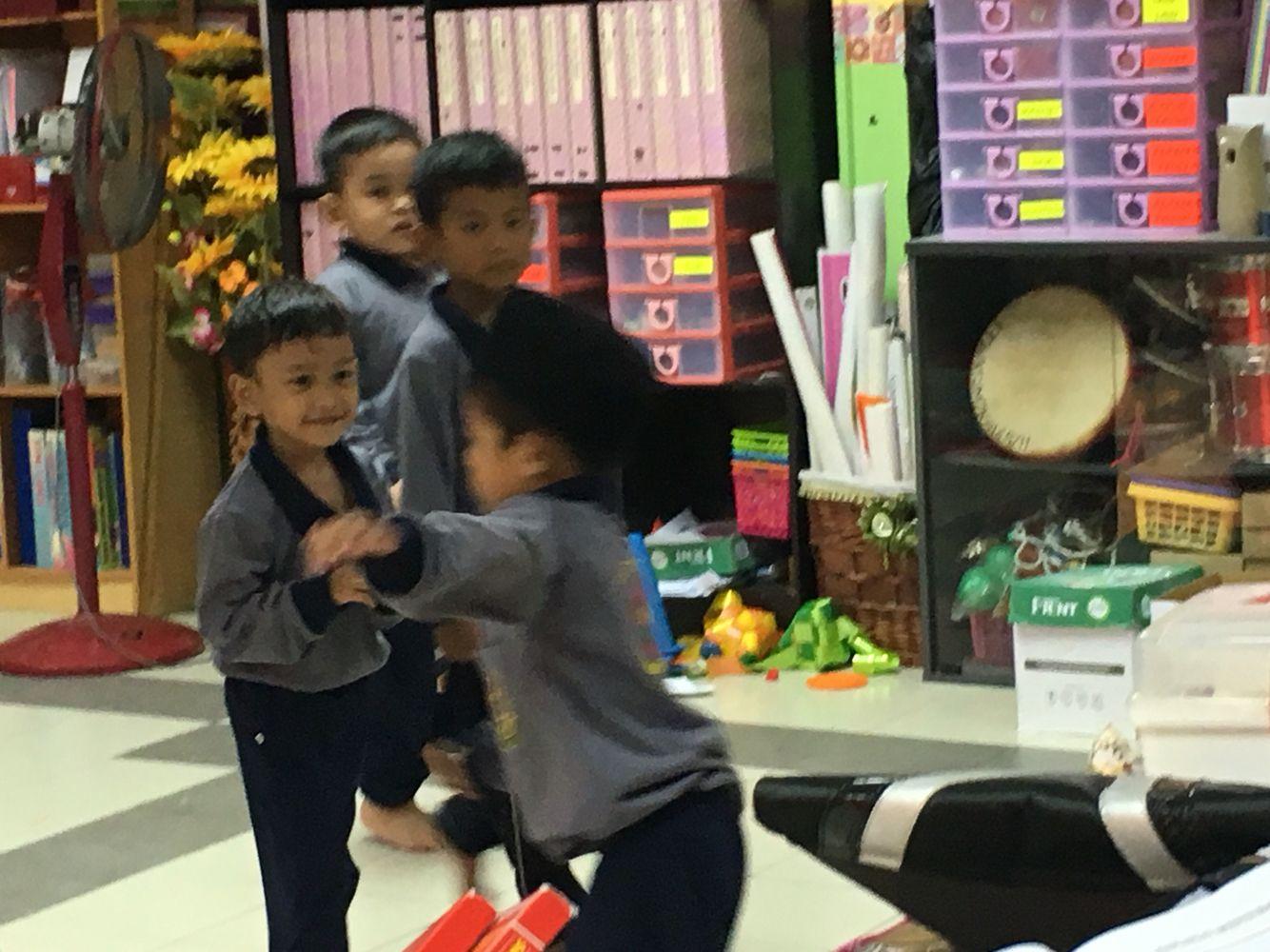 Preschooler: misbehaving