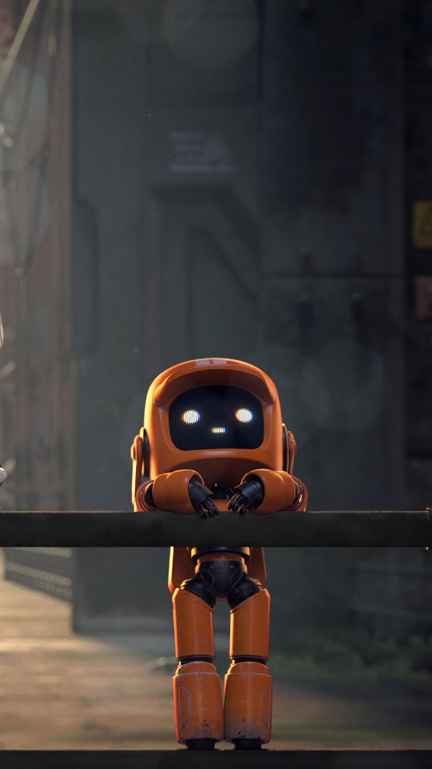 Love Death Amp Robots 1440x2560 In 2020 Robot Wallpaper Robot Art Robot Art Print