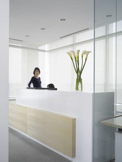Details Canadian Talent Love The Simple Reception Desk Detail