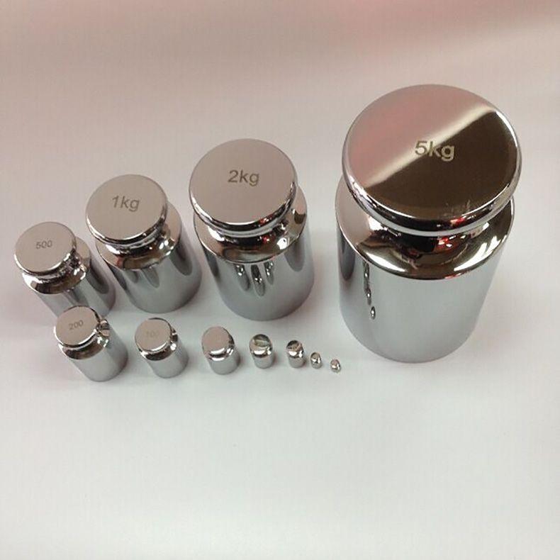 High Quality 3psc/set 100g/200g/500g Precision Chrome