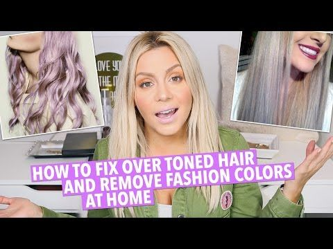 How To Tone And Brighten Blonde Hair At Home Youtube Tone Hair