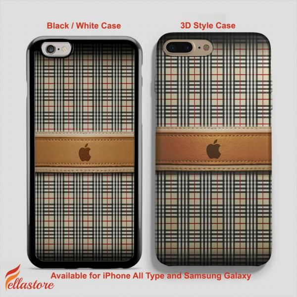 Burberry Style Iphone 5 Case