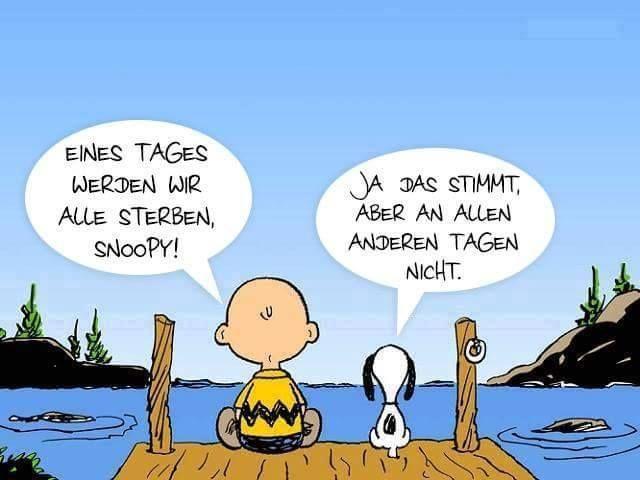 Charlie Brown Snoopy Sterben