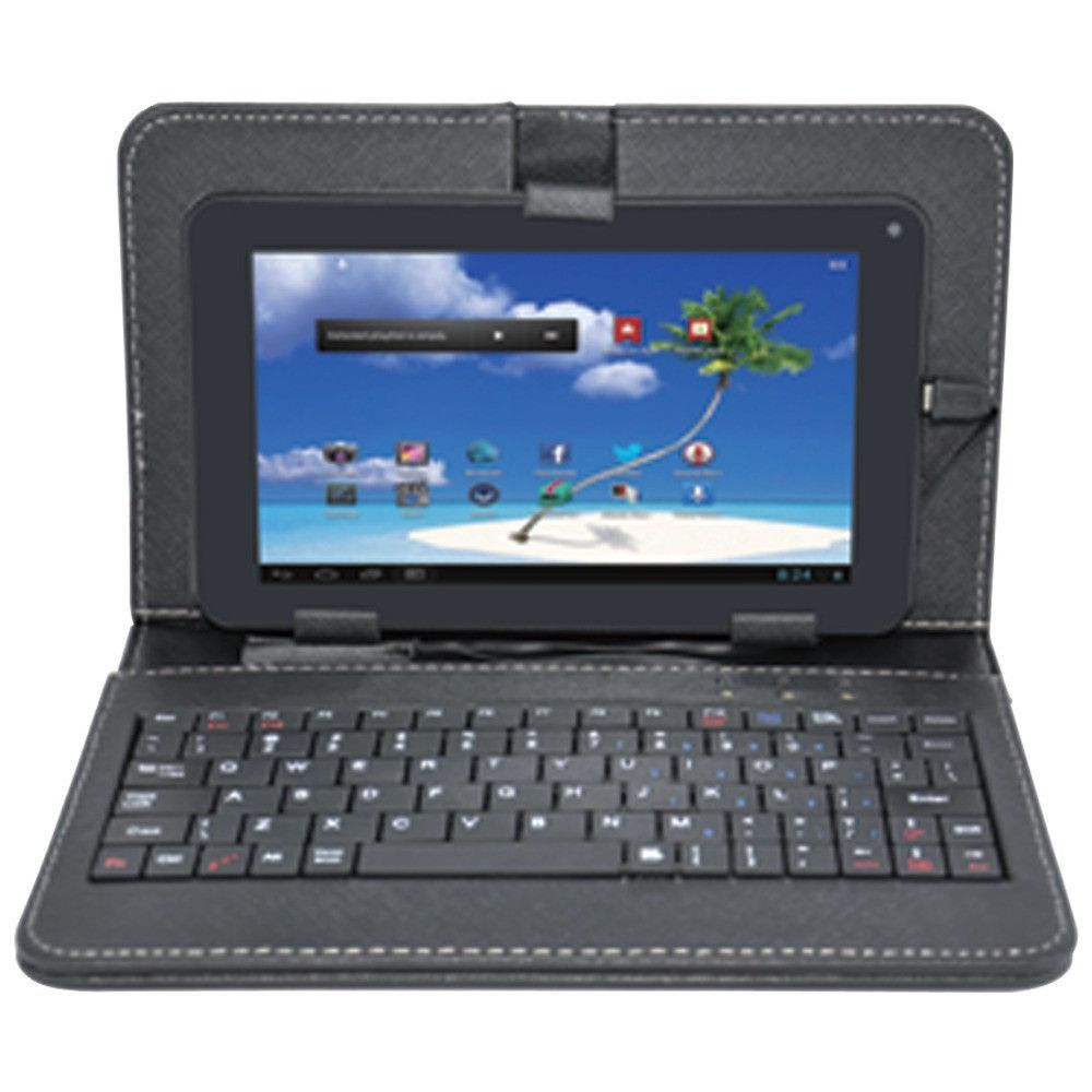 "Proscan 7"" 8gb Android 4.4 Dual Core Tablet With Case & Keyboard"