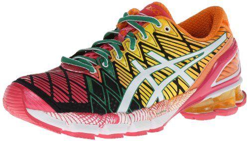 Asics Women S Gel Kinsei 5 Running Shoe Black White Pink 8 5 M Us