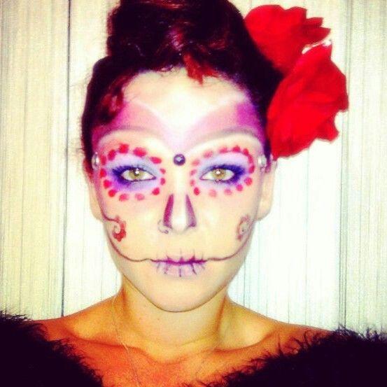 Caracterización SCH-MUA Pinterest - halloween makeup ideas easy