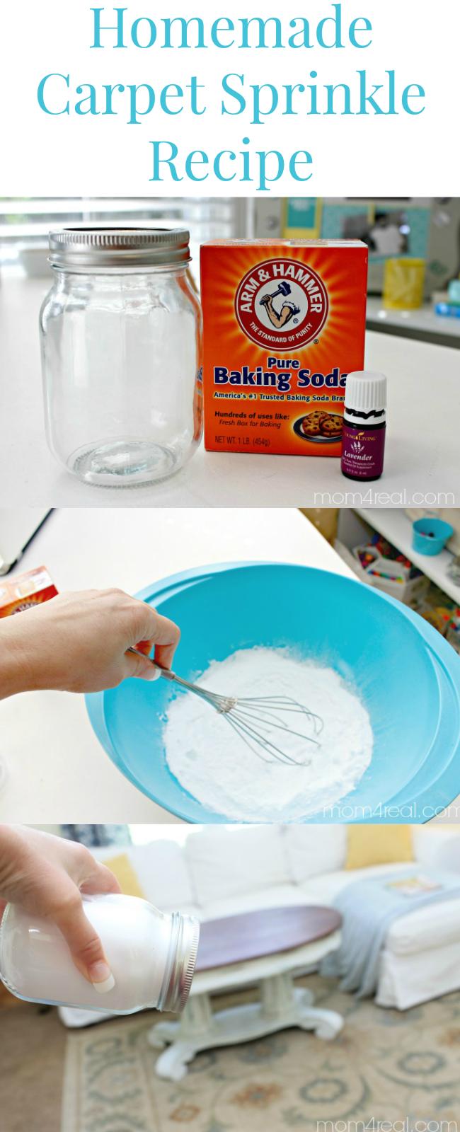 Make Your Own Deodorizing Carpet Powder Mom 4 Real Baking Soda