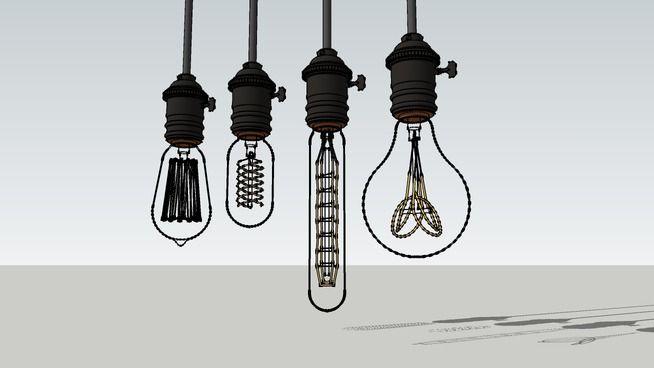 Edison Lamp 3d Warehouse Edison Lamp Lamp Interior Lighting