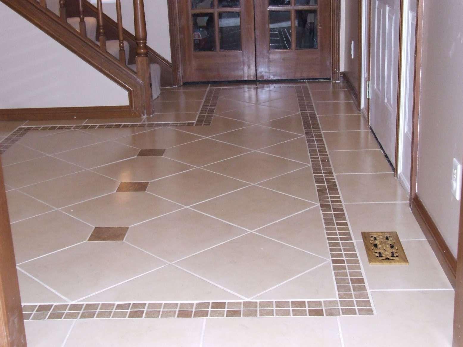 10 Impressive Decorative Ceramic Tile Borders Collection In 2020 Patterned Floor Tiles Floor Tile Design Tile Floor