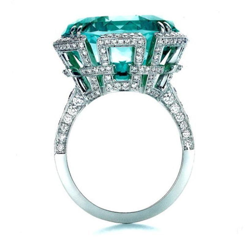 Ocean Wave White Fire Opal Gemstone 925 Sterling Silver Wedding Band Bagues