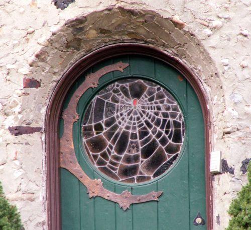 Stained Glass Door, Exterior