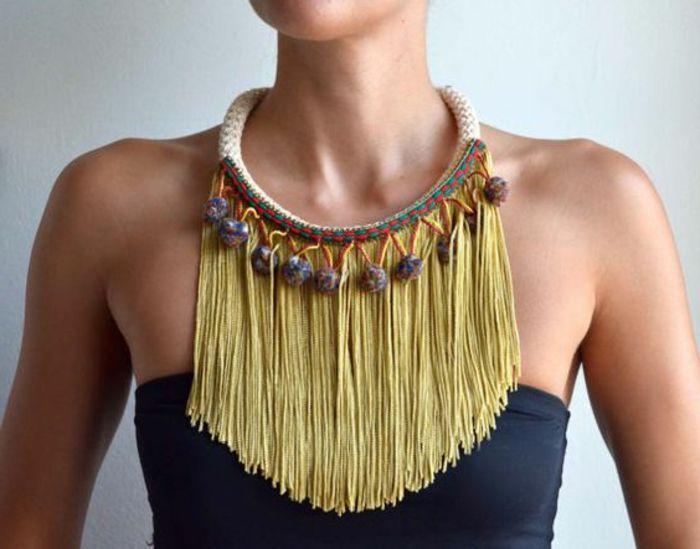 collier femme gemo