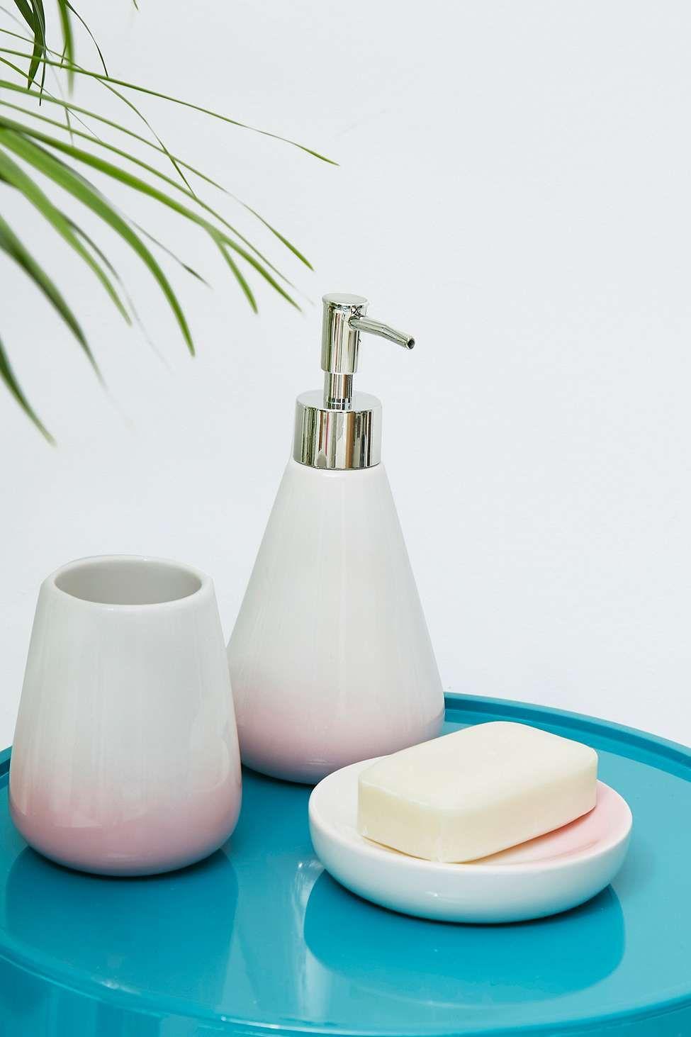Ombre Bath Accessories Set | New House Ideas | Pinterest | Bath ...