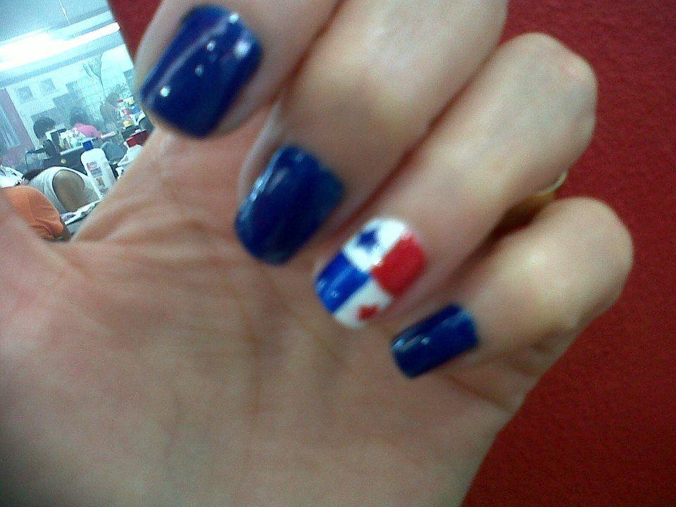 Uña Con La Bandera Panameña Cosas Que Adoro Pinterest Panama
