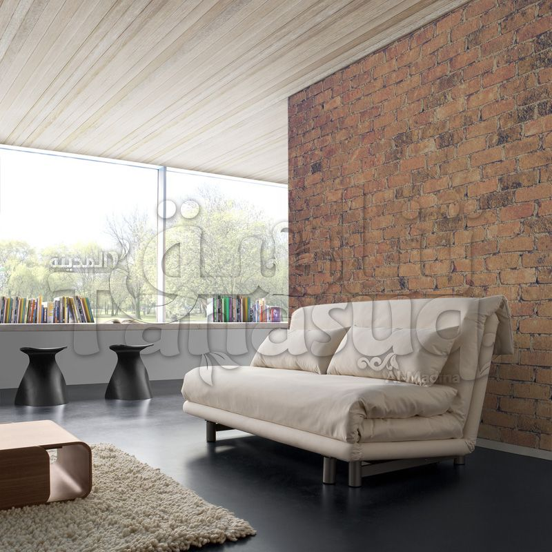 3d Red Bricks Wall Wallpaper ورق حائط ثري دي طوب أحمر Home Decor Home Furniture