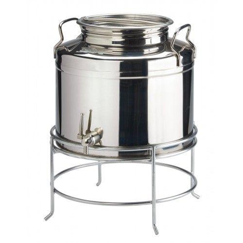 Ebay Sponsored Stainless Steel Milk Oil Liquid Storage Can Jug Pot For Dairy Farm 20 Liters Milk Cans Wine Making Jug Wine Making