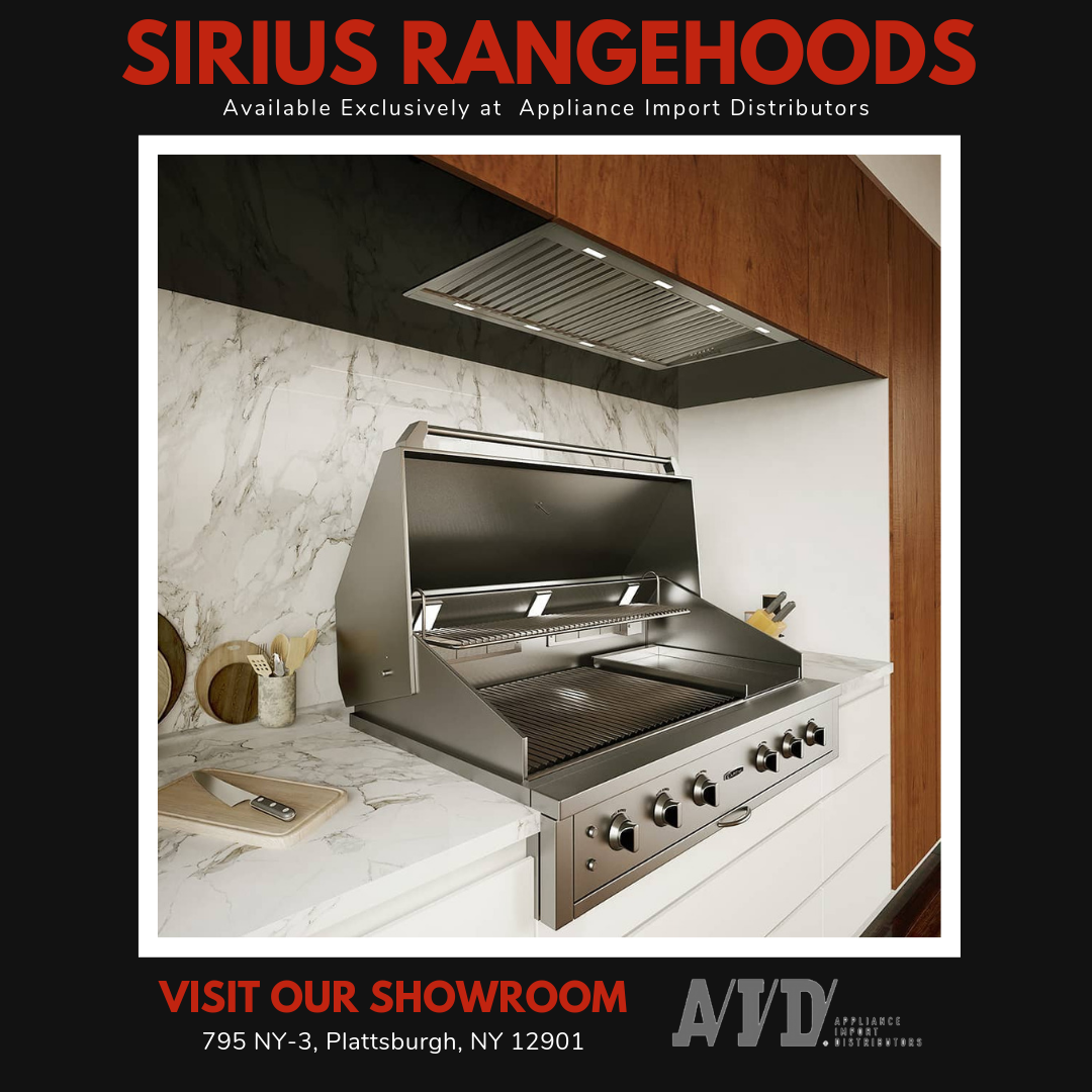 Handmade And Inspected For Perfection Sirius Range Hoods Are A