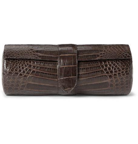 Santiago GonzalezCrocodile Leather Watch Case|MR PORTER