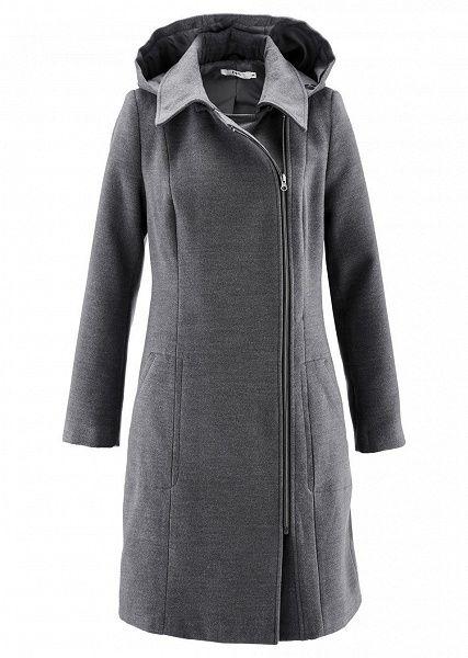 Dámské kabáty za super ceny nakoupíte online u bonprix. Kabát s kapucí S  odnímatelnou kapucí • 1399.0 Kč • Bon prix f7beceefb97